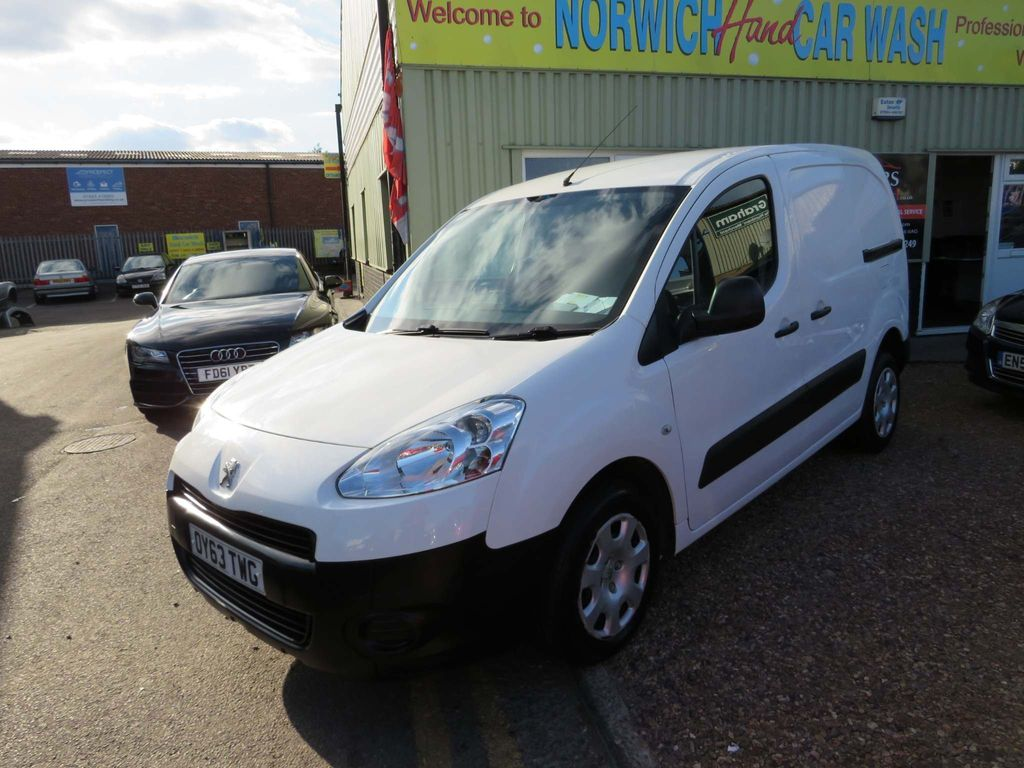 Peugeot Partner Unlisted 1.6 HDi S L1 850 4dr