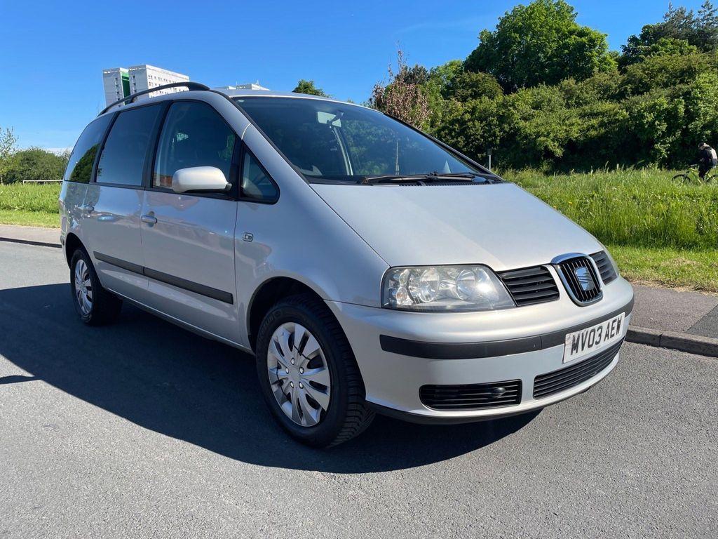 SEAT Alhambra MPV 1.9 TDI S 5dr (7 seat)