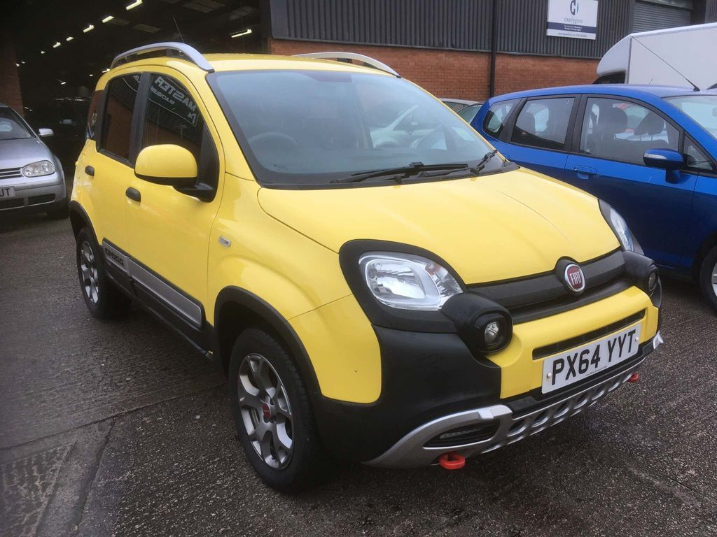 Fiat Panda Hatchback 1.3 MultiJet Cross 4x4 (s/s) 5dr (4 seats)