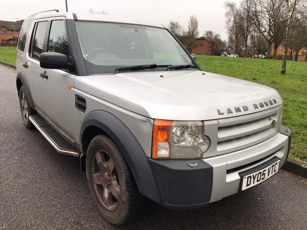 Land Rover Discovery 3 SUV 2.7 TD V6 S 5dr