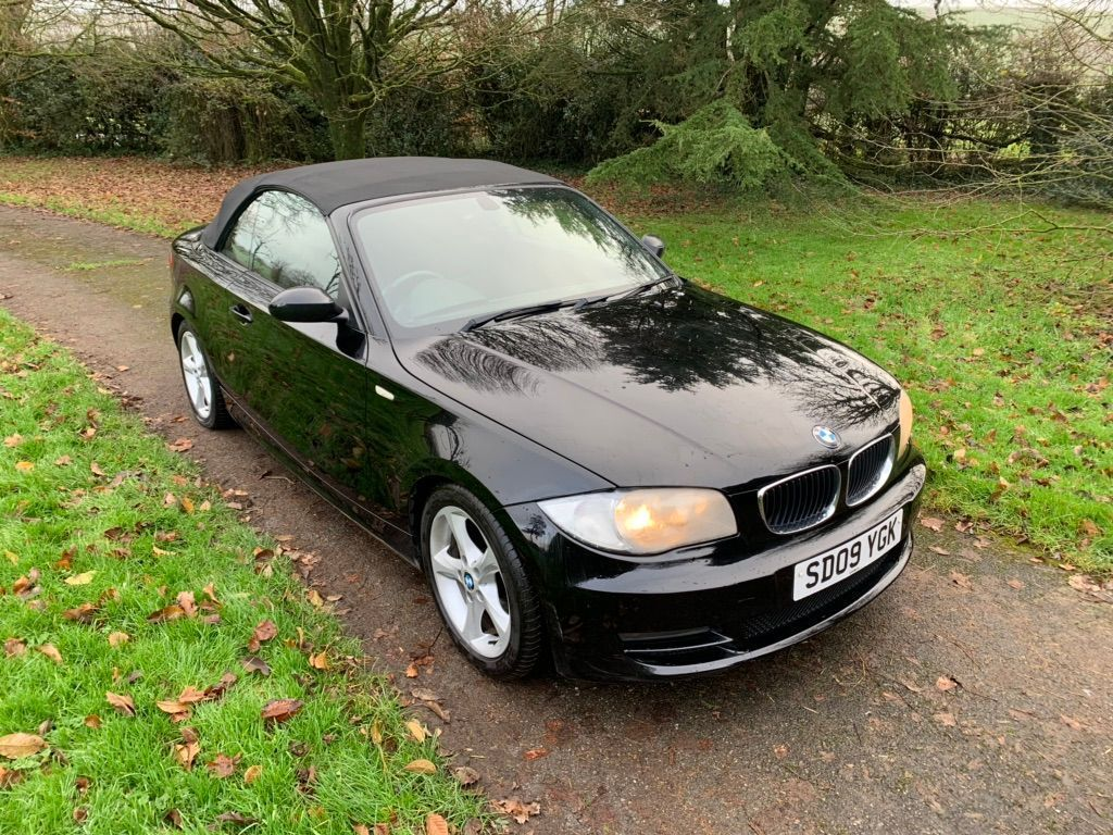 BMW 1 Series Convertible 2.0 118i ES 2dr