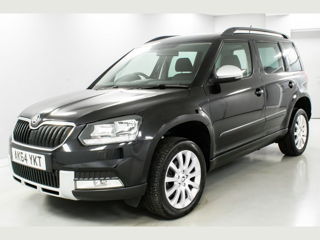 SKODA YETI SUV 2.0 TDi CR SE Business Outdoor DSG 4WD 5dr