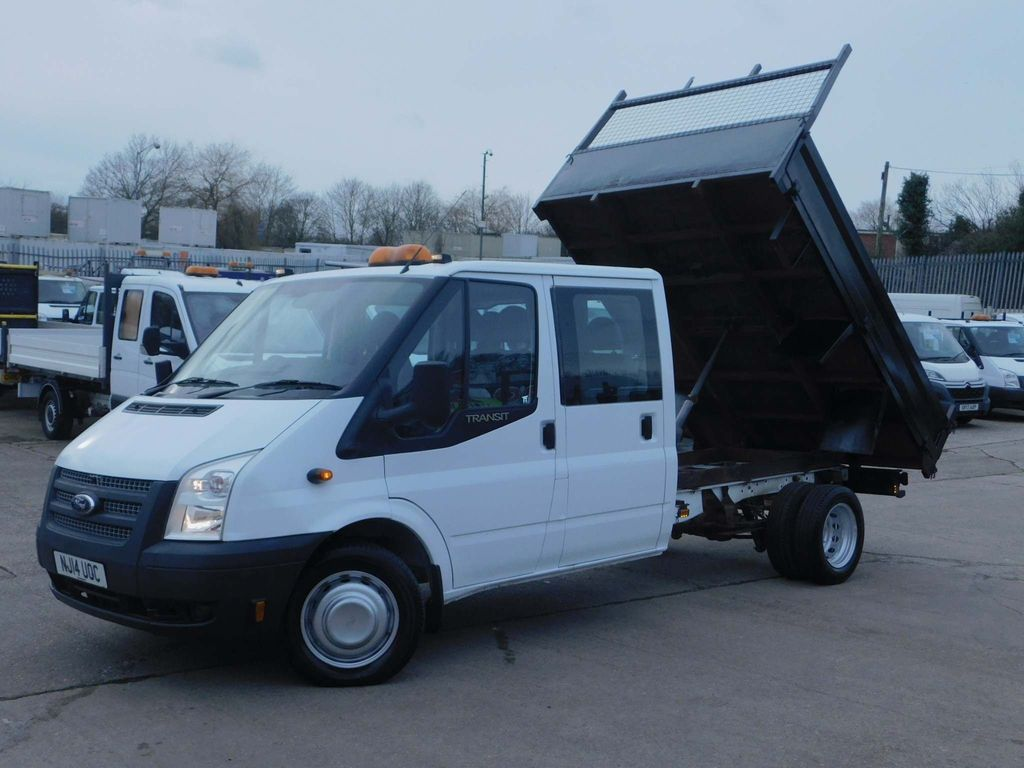 Ford Transit Tipper 2.2TDCI 350 DOUBLE CAB TIPPER LOW MILES