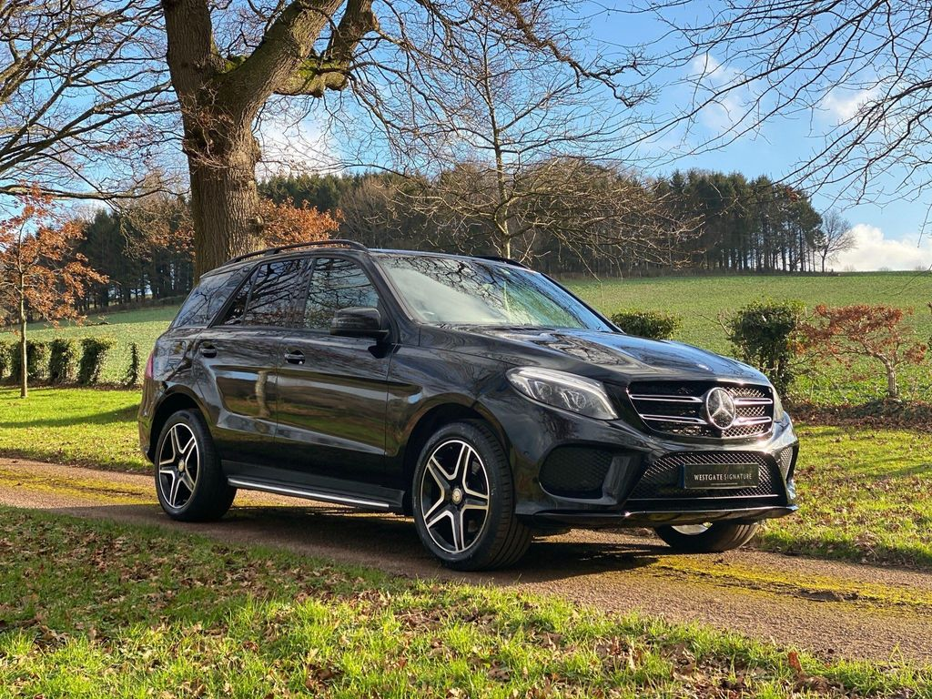 Mercedes-Benz GLE Class SUV 2.1 GLE250d AMG Night Edition G-Tronic 4MATIC (s/s) 5dr