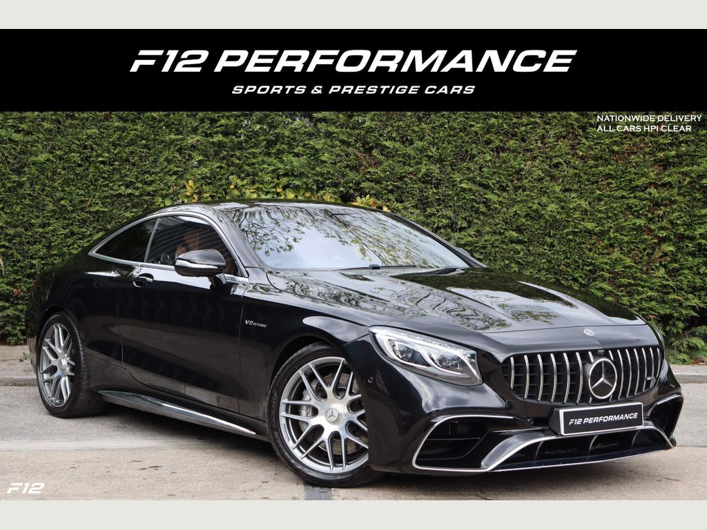 Mercedes-Benz S Class Coupe 4.0 S63 V8 BiTurbo AMG S SpdS MCT (s/s) 2dr