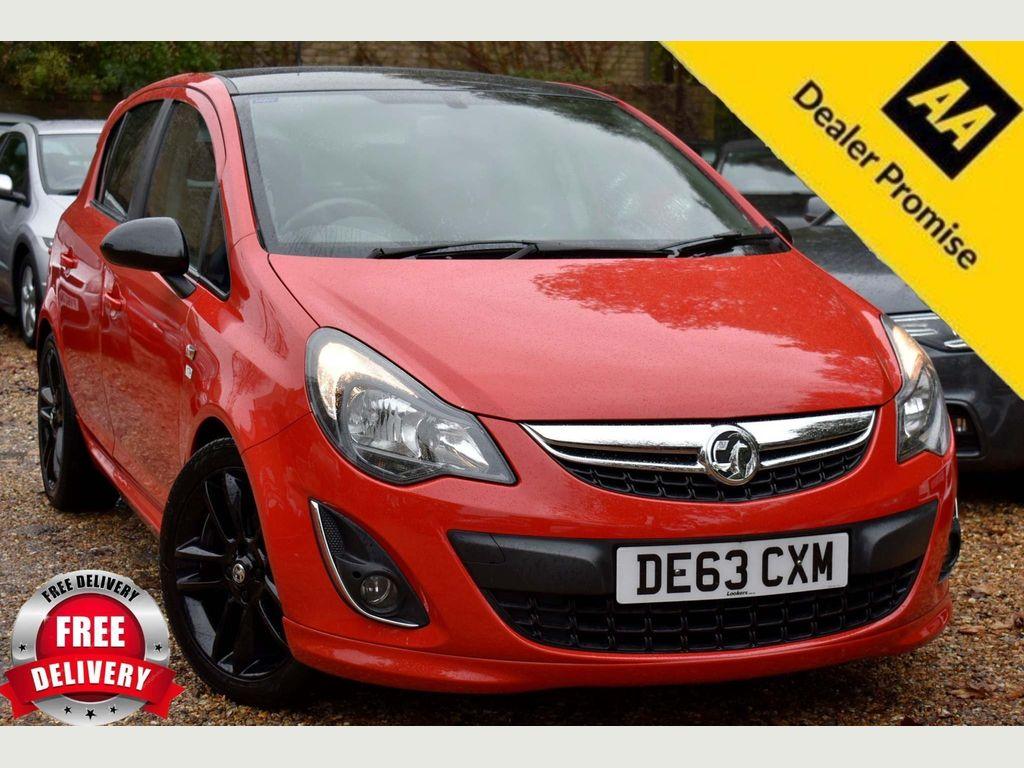 Vauxhall Corsa Hatchback 1.2 i 16v Limited Edition 5dr (a/c)