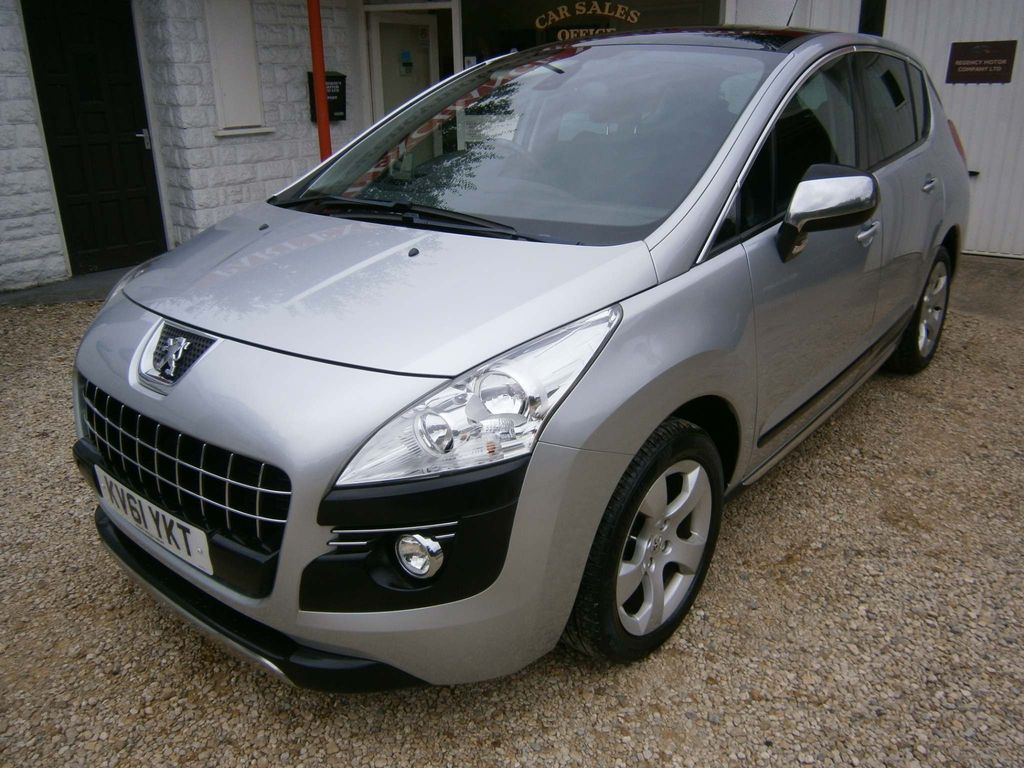 Peugeot 3008 SUV 2.0 HDi FAP Exclusive 5dr
