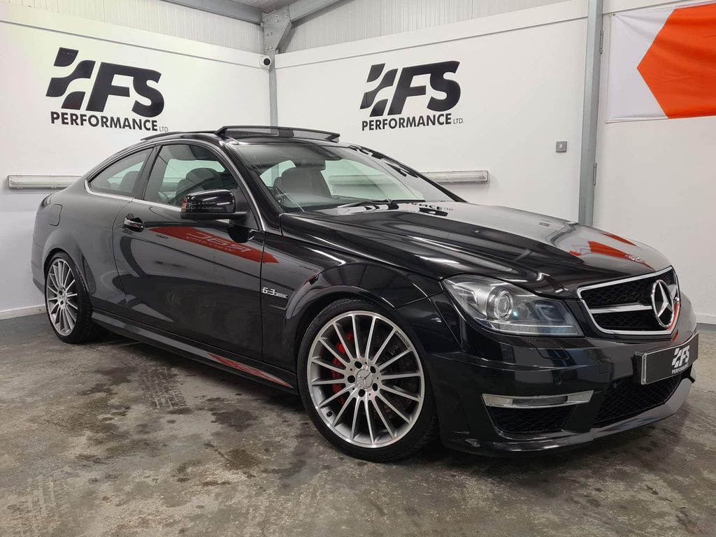 Mercedes-Benz C Class Coupe 6.3 C63 AMG MCT 7S 2dr