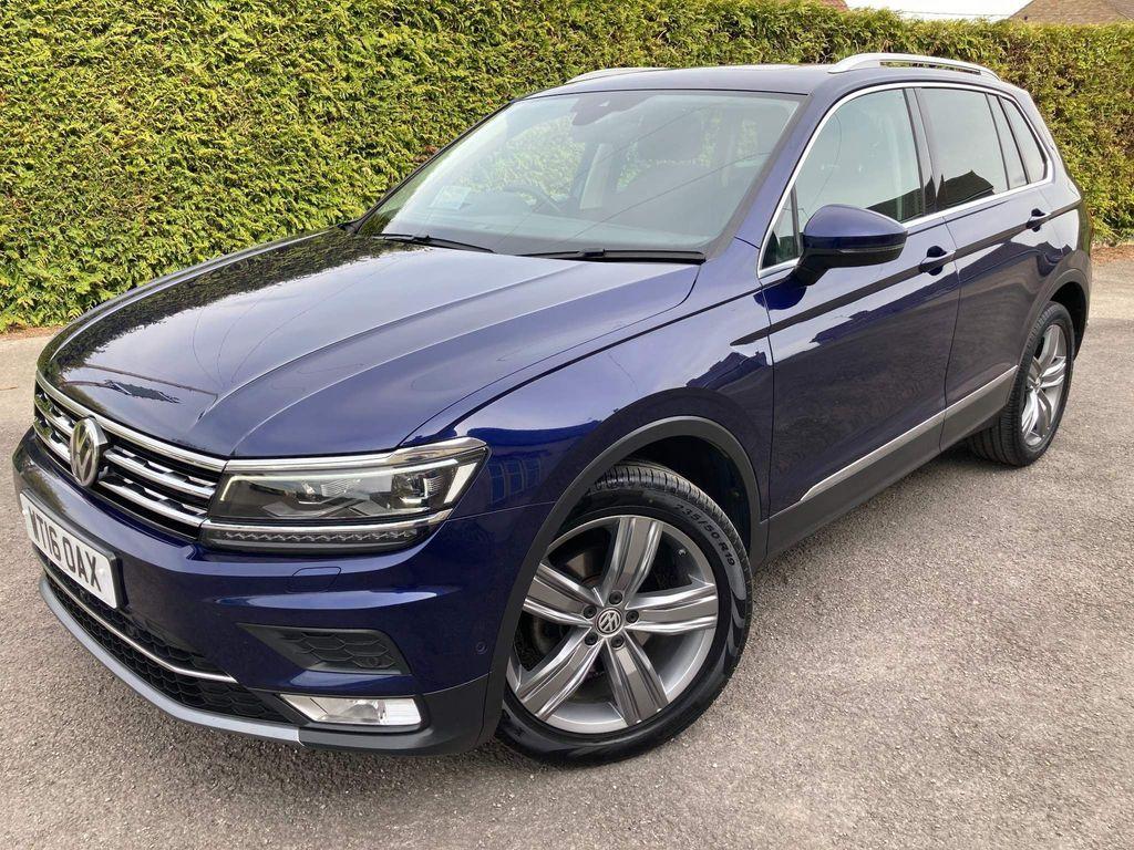 Volkswagen Tiguan SUV 2.0 TDI BlueMotion Tech SEL (s/s) 5dr