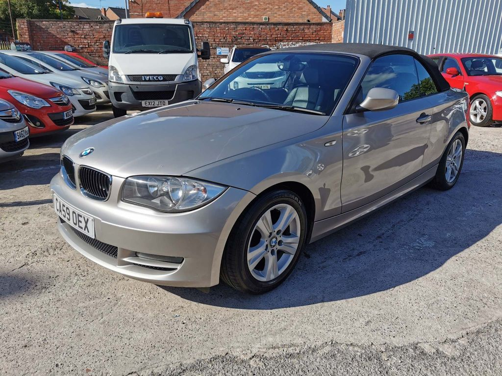 BMW 1 Series Convertible 2.0 118d SE 2dr