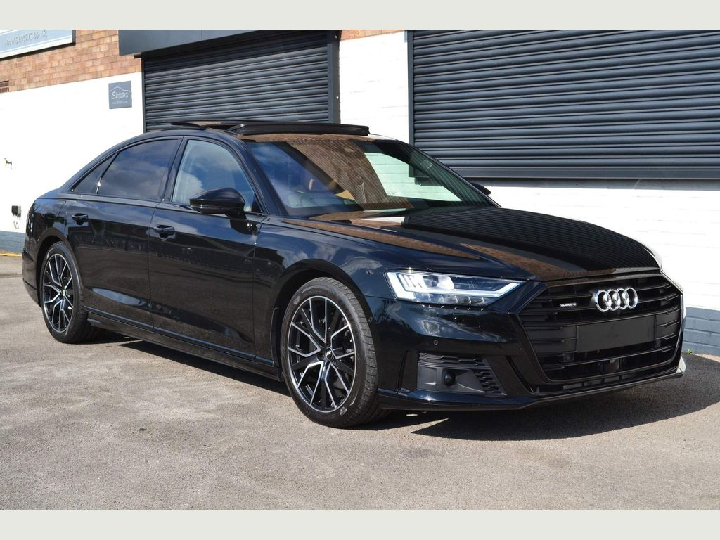Audi A8 Saloon 3.0 TDI V6 50 Black Edition Tiptronic quattro (s/s) 4dr LWB