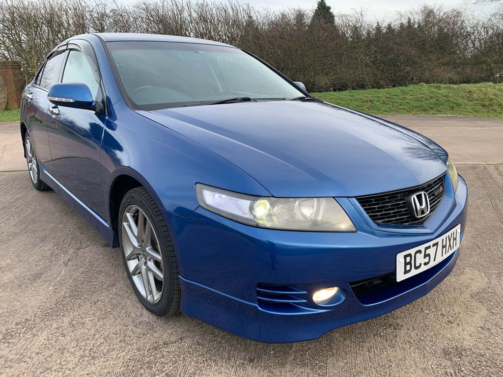 Honda Accord Saloon Type R K20A-6 Speed-Euro R-Facelift Mk 7