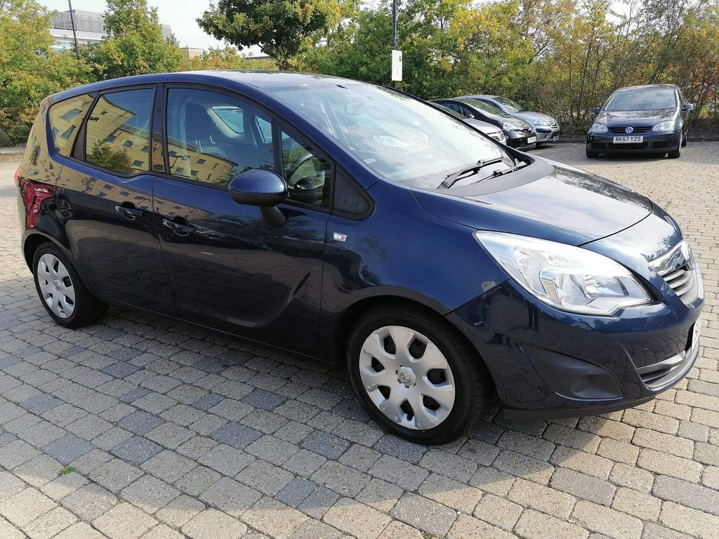 Vauxhall Meriva MPV 1.7 CDTi 16v Exclusiv 5dr