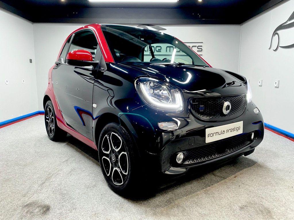 Smart fortwo Coupe 17.6kWh Prime (Premium Plus) Auto 2dr