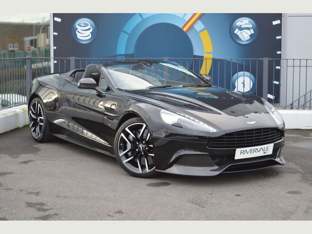 Aston Martin Vanquish Convertible 5.9 V12 Volante Touchtronic III 2dr