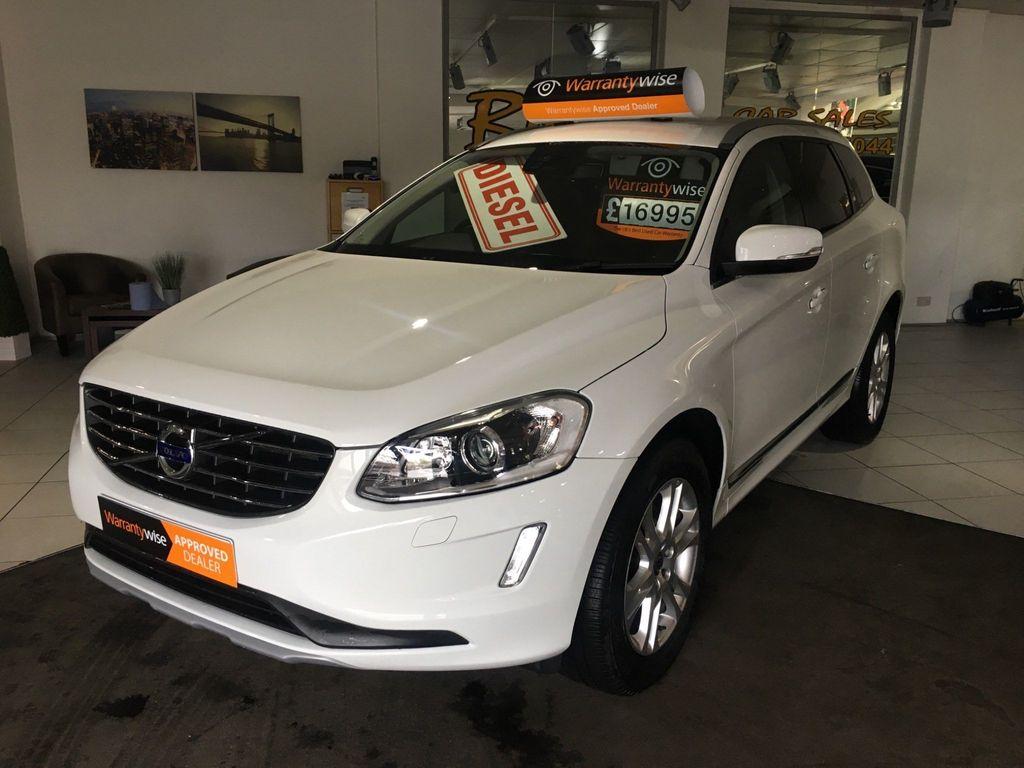 Volvo XC60 SUV 2.4 D4 SE Lux Nav AWD (s/s) 5dr