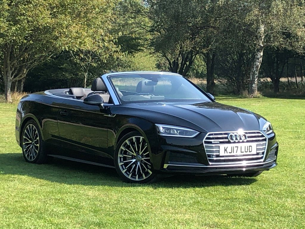 Audi A5 Cabriolet Convertible 2.0 TFSI S line Cabriolet S Tronic quattro (s/s) 2dr
