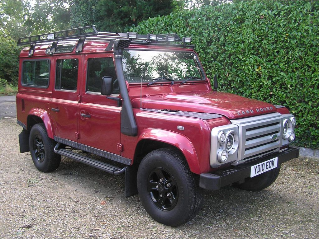 Land Rover Defender 110 SUV 2.4 TDCi County Station Wagon 4WD MWB 5dr