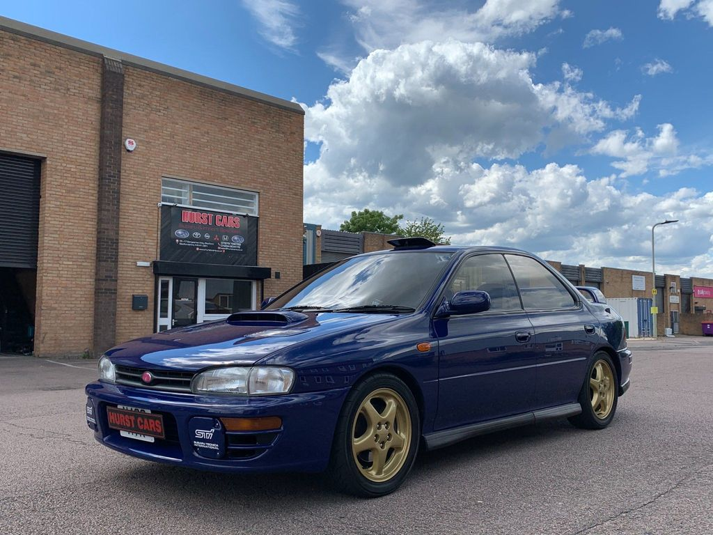Subaru Impreza Saloon JDM WRX STI 555 Limited Edition
