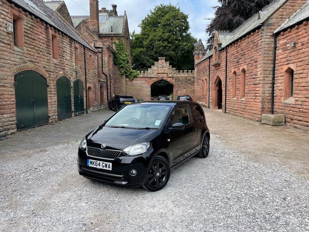 SKODA Citigo Hatchback 1.0 MPI Black Edition 3dr