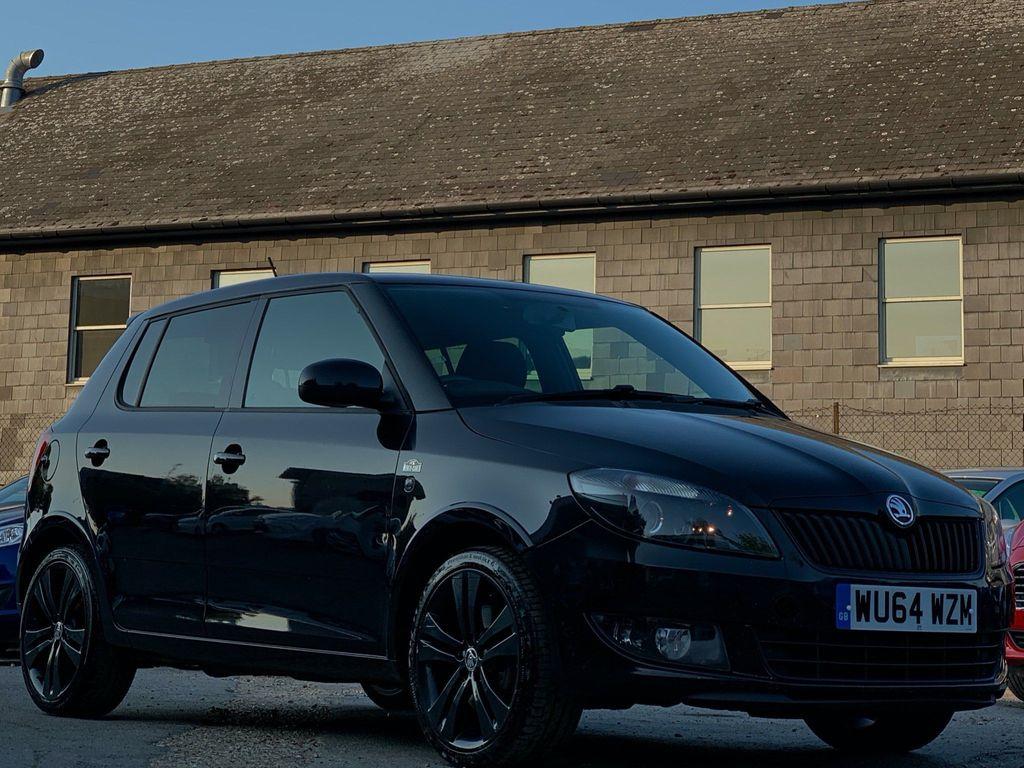 SKODA Fabia Hatchback 1.2 TSI Black Edition 5dr