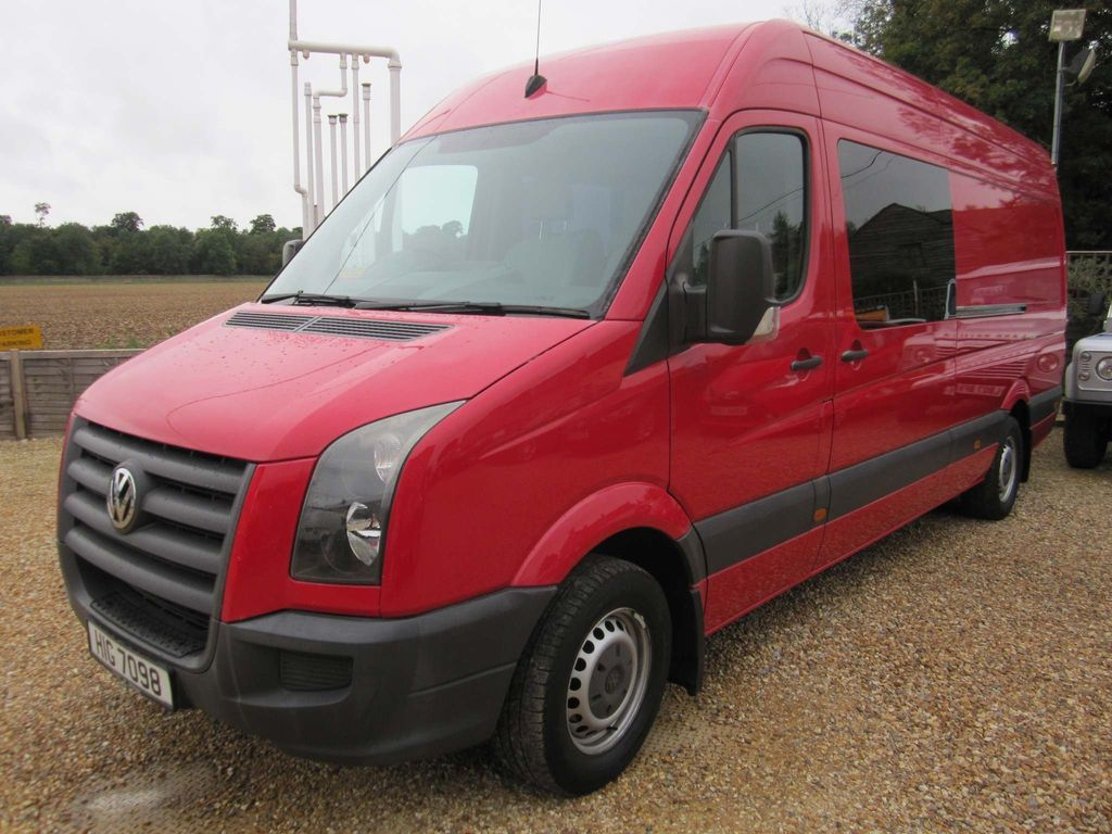 Volkswagen Crafter Panel Van 2.5 TDI CR35 Maxi High Roof Van 4dr (LWB)