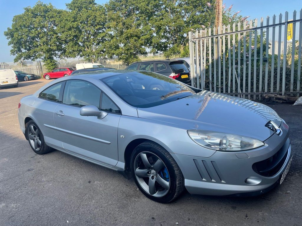 Peugeot 407 Coupe 2.7 HDi SE 2dr