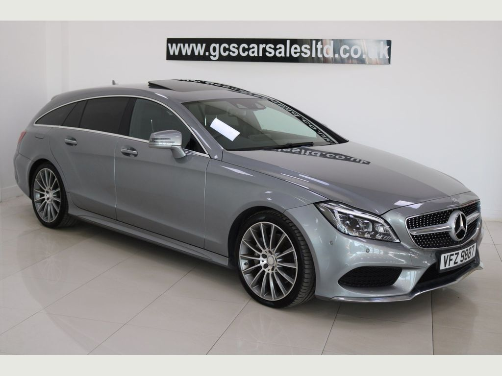 Mercedes-Benz CLS Estate 3.0 CLS350 CDi BlueTEC AMG Line Shooting Brake G-Tronic+ (s/s) 5dr