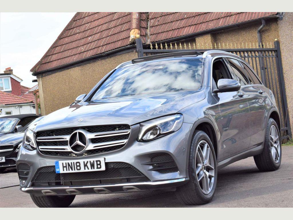Mercedes-Benz GLC Class SUV 2.0 GLC250 AMG Line (Premium Plus) G-Tronic 4MATIC (s/s) 5dr