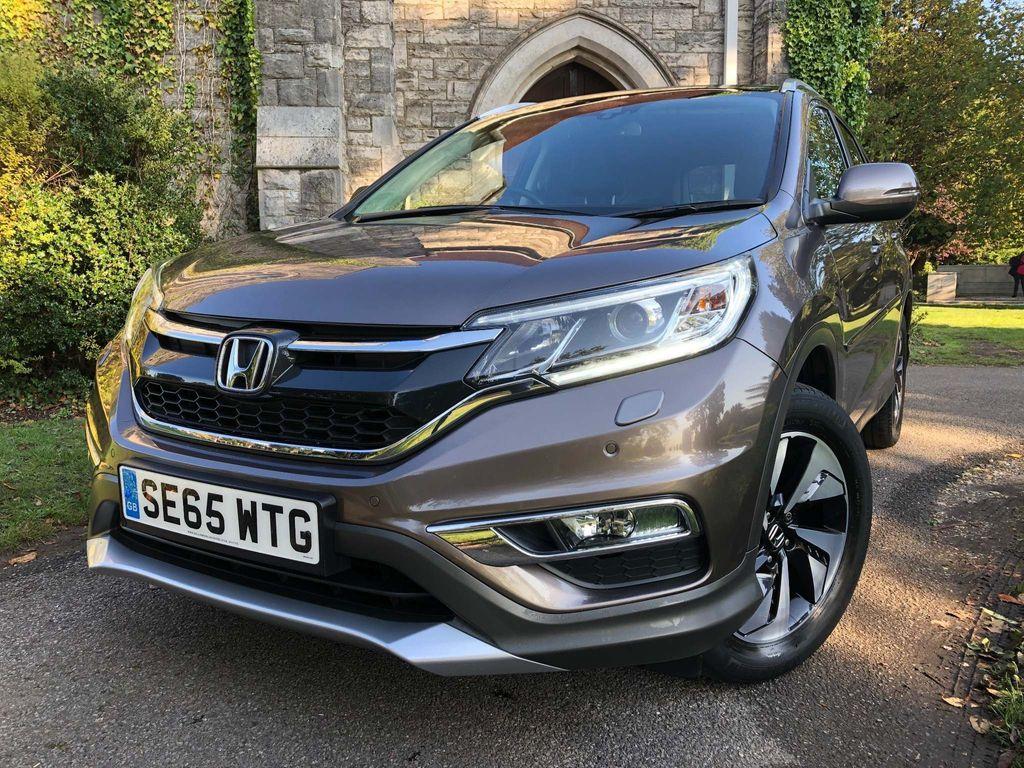 Honda CR-V SUV 2.0 i-VTEC EX 4WD (s/s) 5dr