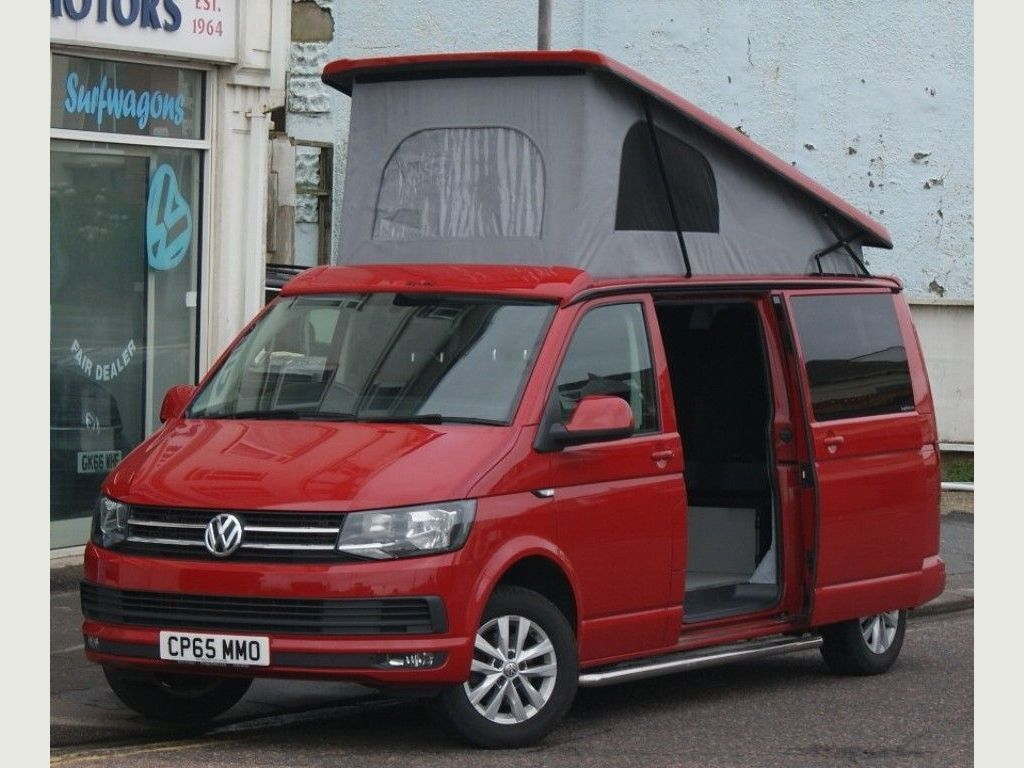 Volkswagen Transporter Campervan T6 2.0TDi 140PS LWB 5 SEAT 4 BERTH CAMPERVAN WITH TAILGATE & HEATED CAPTAINS CHAIRS