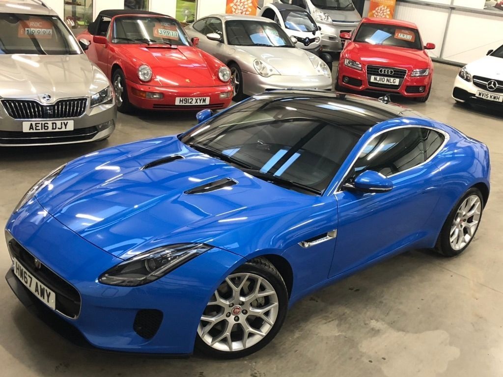 JAGUAR F-TYPE Coupe 2.0i Auto (s/s) 2dr
