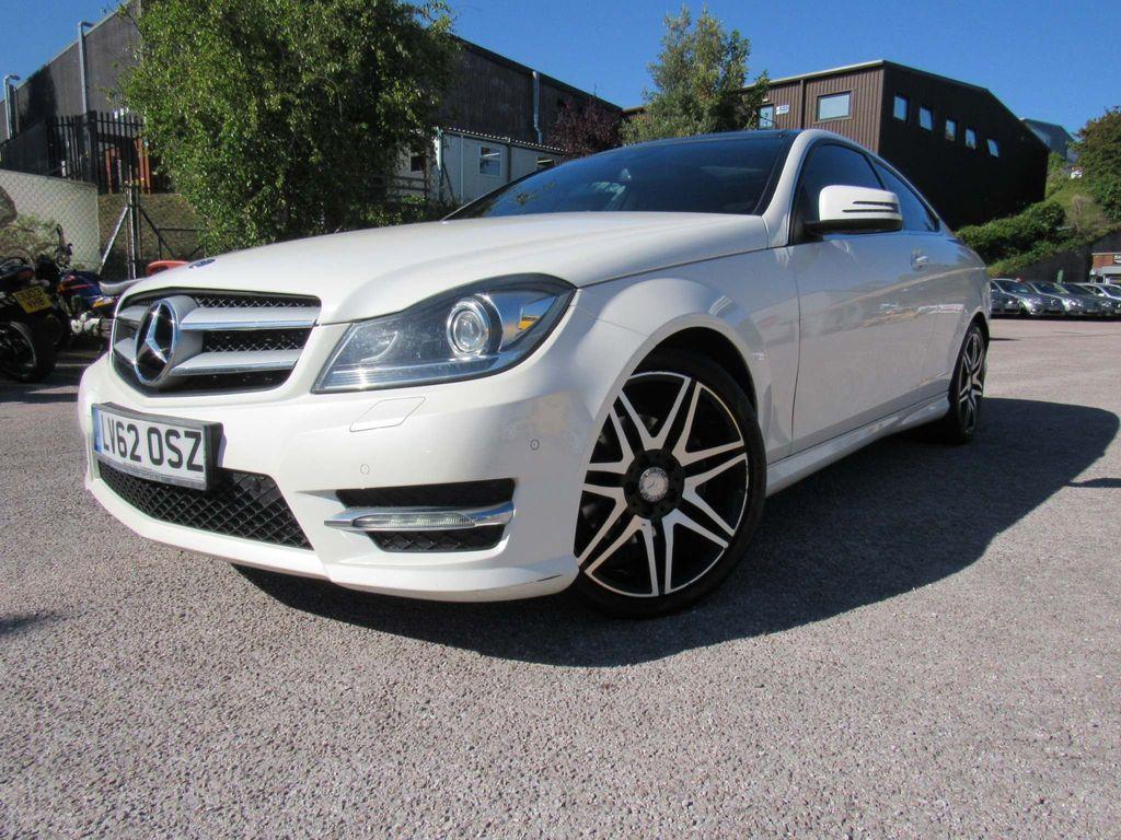 Mercedes-Benz C Class Coupe 2.1 C250 CDI AMG Sport 7G-Tronic Plus 2dr