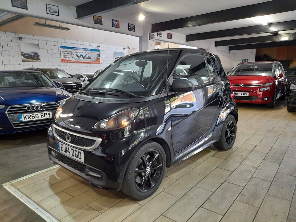 Smart fortwo Convertible 1.0 Grandstyle Cabriolet Softouch 2dr