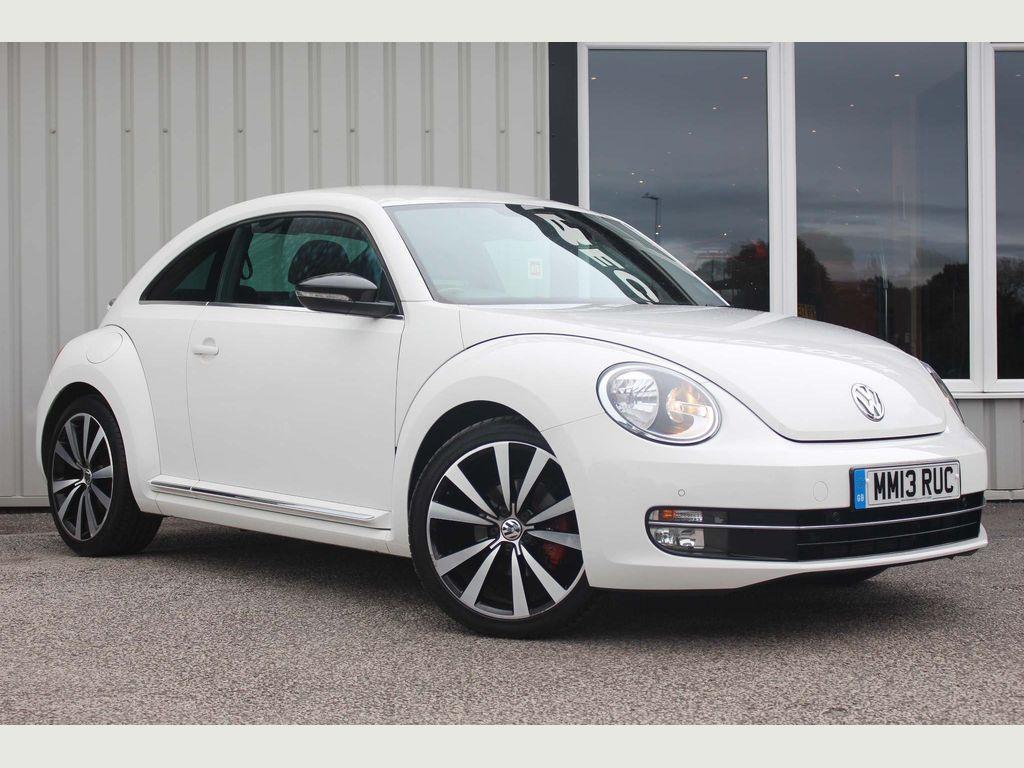 Volkswagen Beetle Hatchback 2.0 TSI Turbo Black 3dr