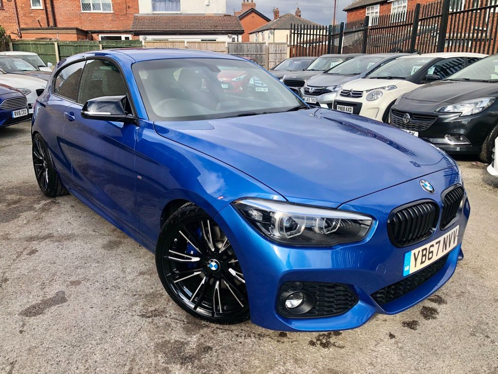 BMW 1 Series Hatchback 2.0 120i M Sport Shadow Edition Sports Hatch Auto (s/s) 3dr