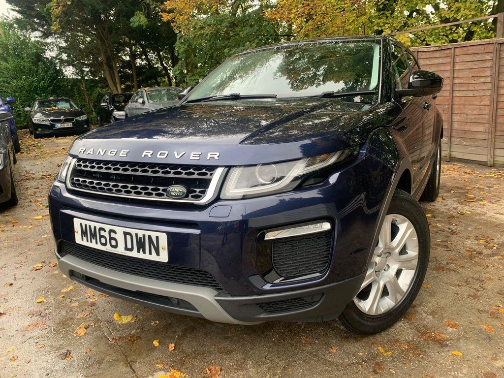 Land Rover Range Rover Evoque SUV 2.0 TD4 SE Tech Auto 4WD (s/s) 5dr