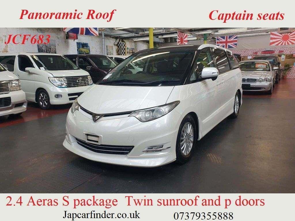 Toyota Estima MPV Estima Aeras S package top spec