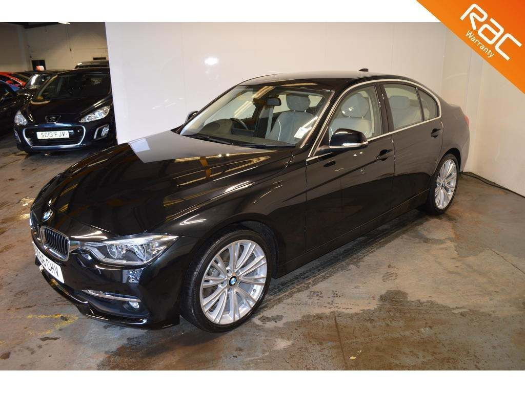 BMW 3 Series Saloon 2.0 320d BluePerformance Luxury Auto (s/s) 4dr