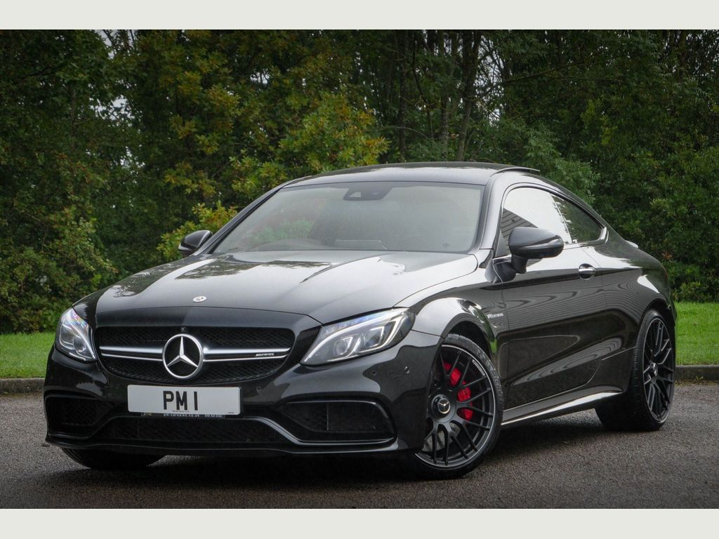 Mercedes-Benz C Class Coupe 4.0 C63 V8 BiTurbo AMG S (Premium) SpdS MCT (s/s) 2dr