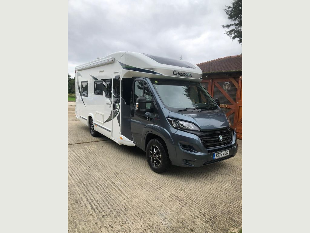 Chausson 711 welcome travel line Motorhome Fiat Chausson 711 welcome travel line