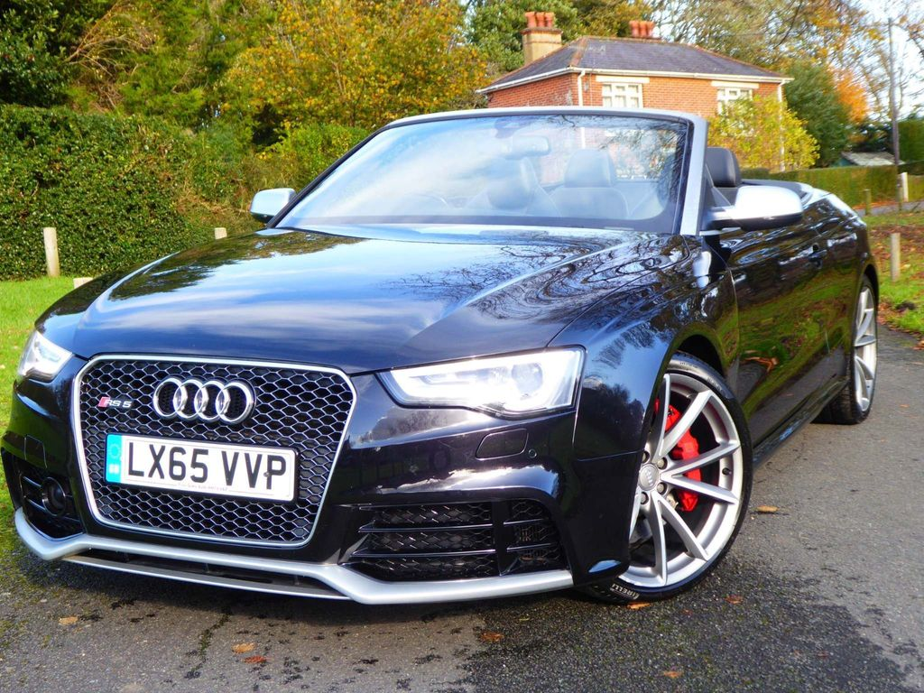 Audi RS5 Convertible 4.2 TFSI Cabriolet S Tronic quattro 2dr