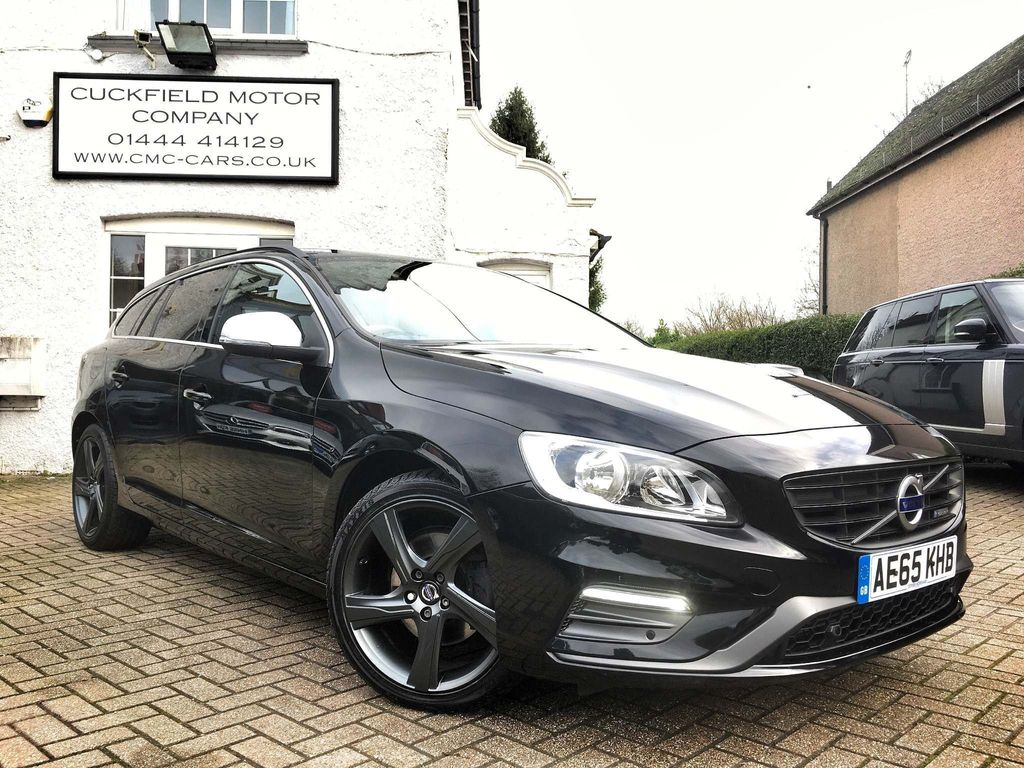 Volvo V60 Estate 1.6 D2 R-Design Nav Powershift (s/s) 5dr
