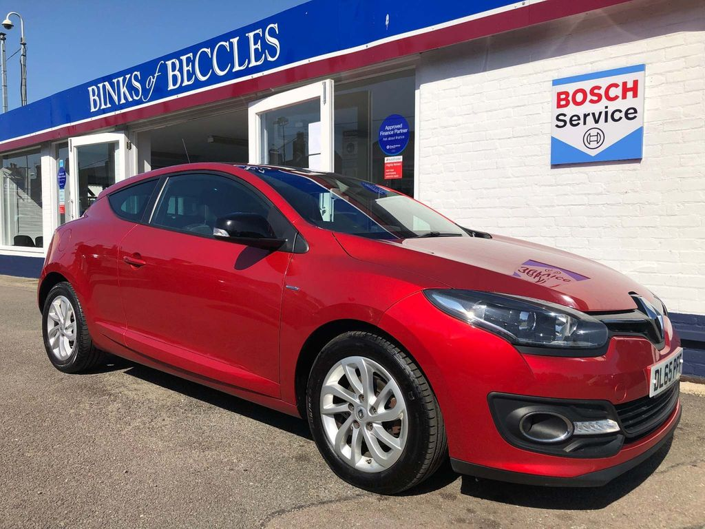 Renault Megane Coupe 1.6 dCi ENERGY Limited Nav (s/s) 3dr