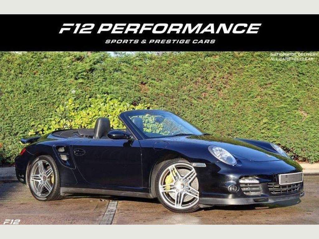 Porsche 911 Convertible 3.6 997 Turbo Cabriolet Tiptronic S AWD 2dr