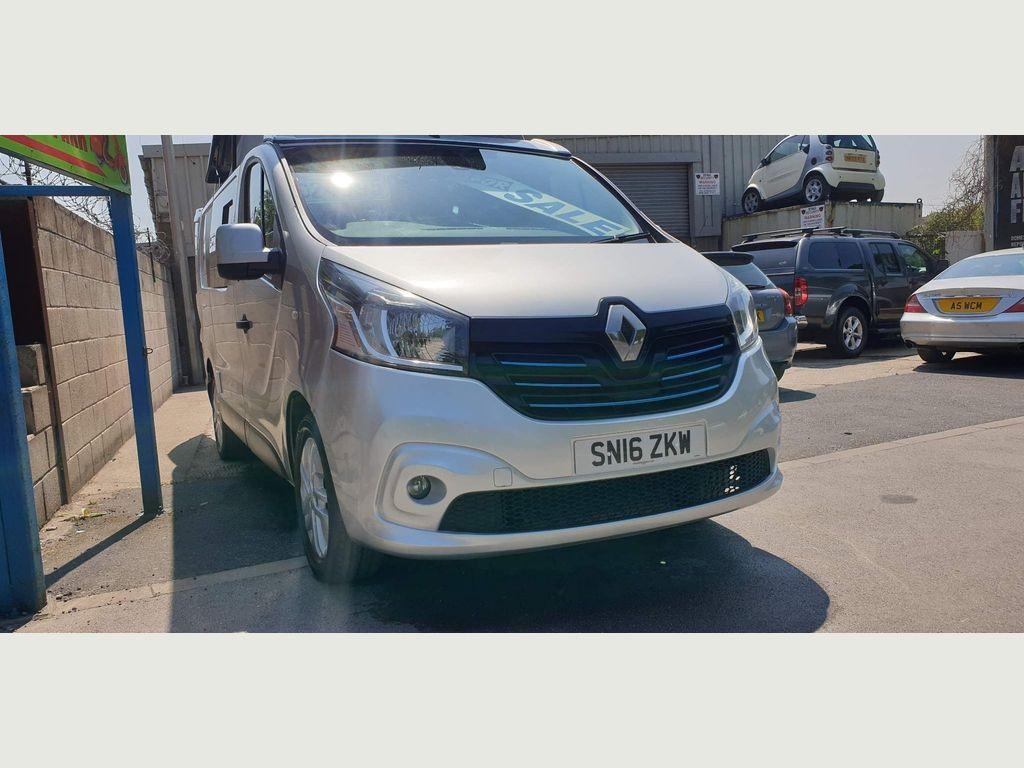 Renault Traffic sport Van Conversion