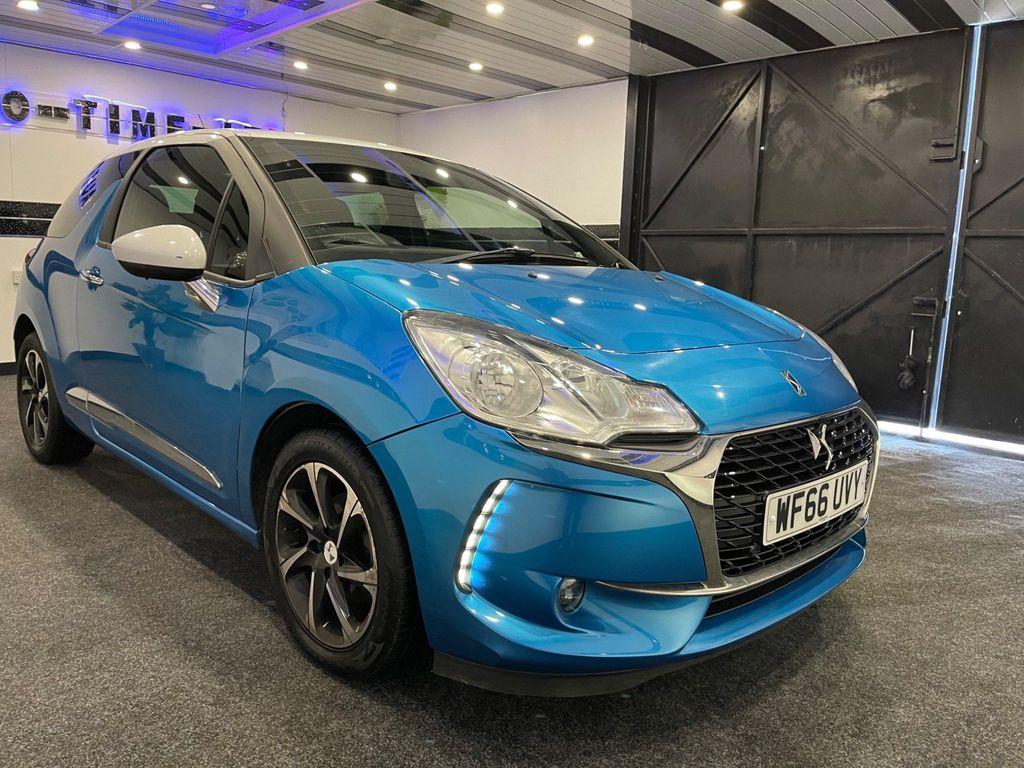 DS AUTOMOBILES DS 3 Hatchback 1.6 BlueHDi Elegance (s/s) 3dr