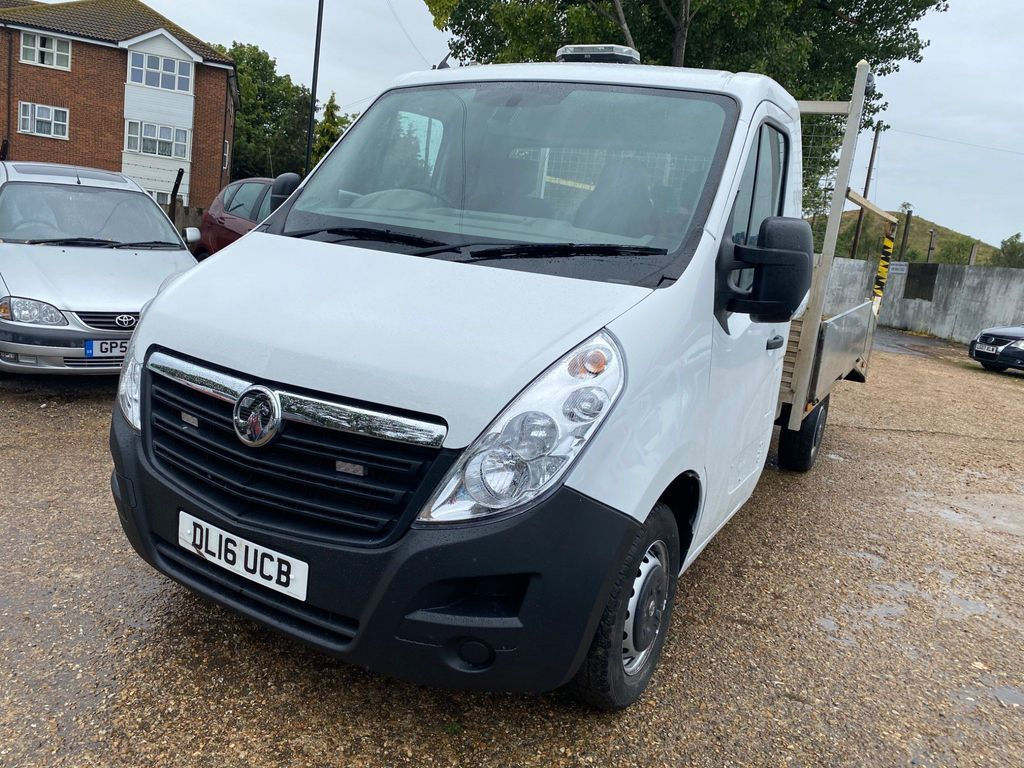Vauxhall Movano Chassis Cab 2.3 CDTi 3500 FWD L2 H1 EU6 2dr