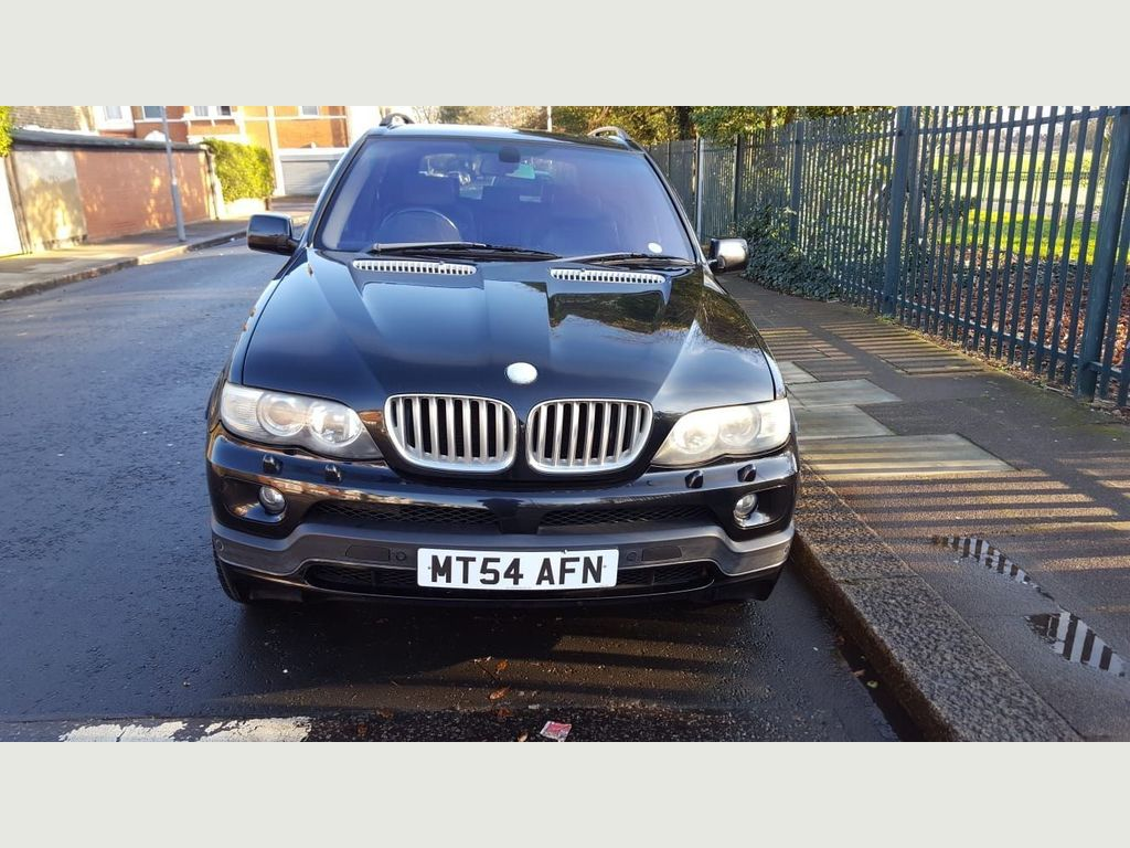 BMW X5 SUV 4.8 iS V8 Auto 4WD 5dr
