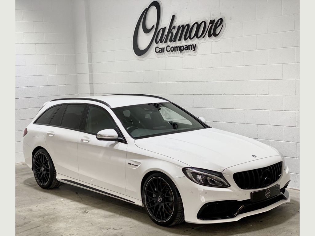 Mercedes-Benz C Class Estate 4.0 C63 V8 BiTurbo AMG SpdS MCT (s/s) 5dr